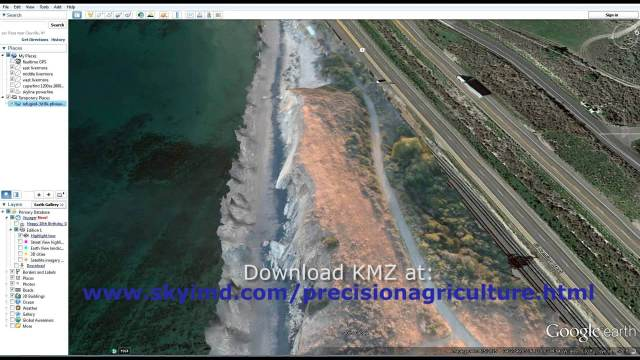 Santa Barbara Refugio Oil Spill in 3D Using Canon Camera