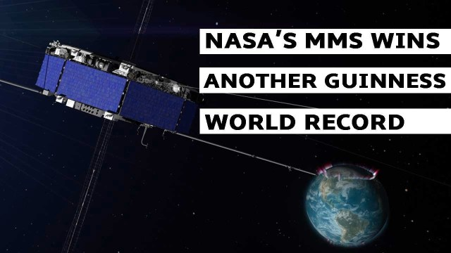 NASA's MMS Satellite Breaks World GPS Record