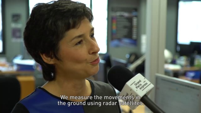 Satellite Monitoring of Grand Paris Express