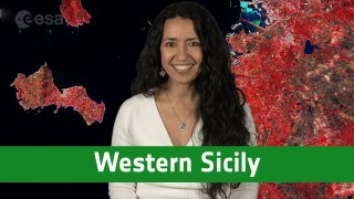 Earth from Space: Western Sicily
