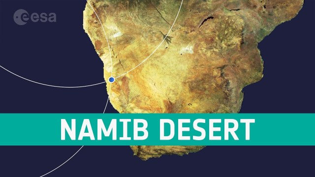 Earth from Space: Namib Desert