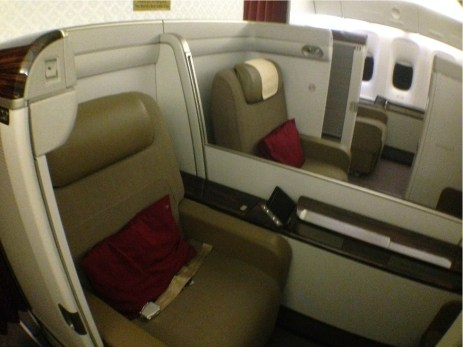 First Class Boeing-777 Garuda Indonesia