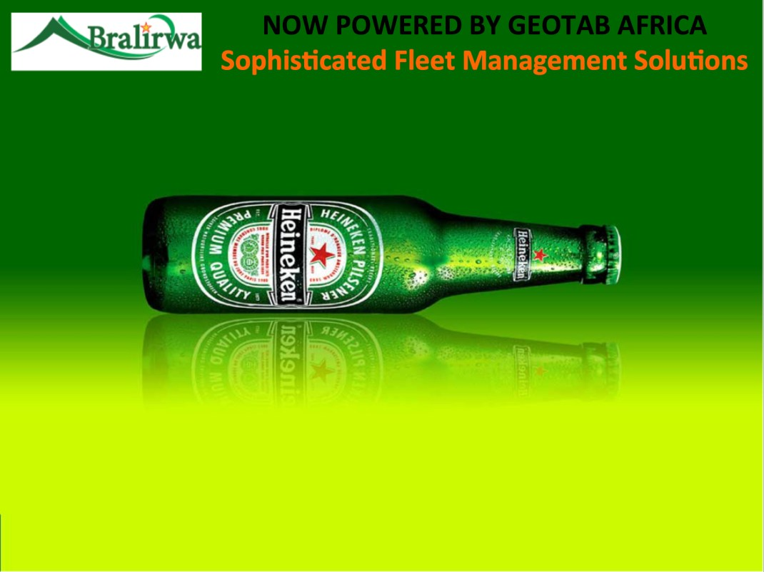 Bralirwa Rwanda (Part of Heineken Group) - now powered by Geotab Africa