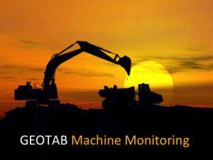 Geotab Machine Monitoring