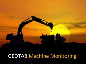 Geotab Machine Monitoring