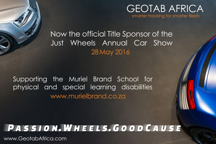 GEOTAB Africa: Just Wheels Show Sponsor
