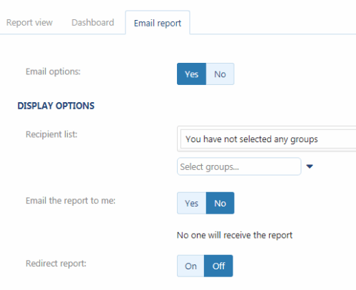 MyGeotab Email Reports