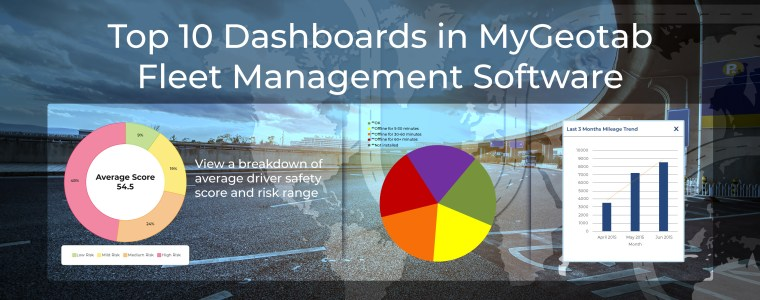 Top 10 Dashboards in MyGeotab