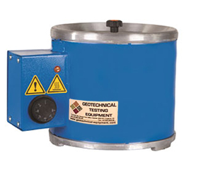 The Melting Pot is mainly used for melting capping compound .