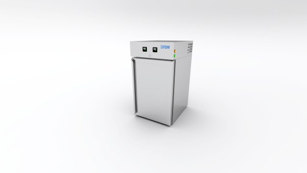 The Constant Climate Chamber Cabinet is used for curing cement test samples.