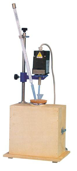The Heat of Hydration Apparatus is used to determine the heat of hydration of low heat cement as expressed in calories per gram.