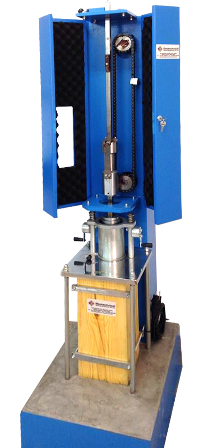 The Automatic Compactor is made of a rugged construction to with stand work.