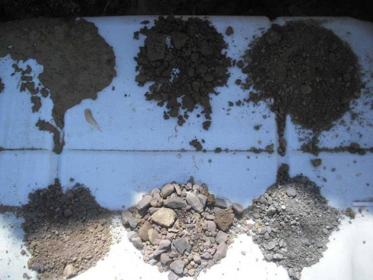 Granulometría de suelos por tamizado