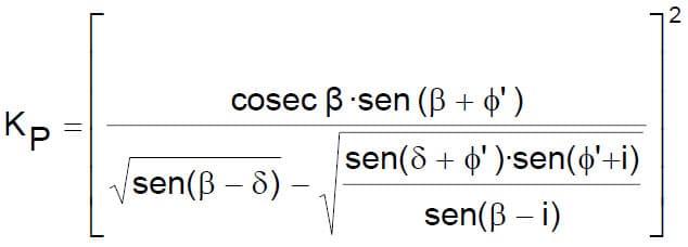 Fórmulas Sencillas Para El Cálculo De Los Empujes De