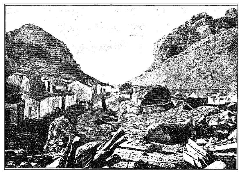 Daños sismo Arenas del Rey