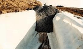 Geotextile Non Woven sebagai Drainase