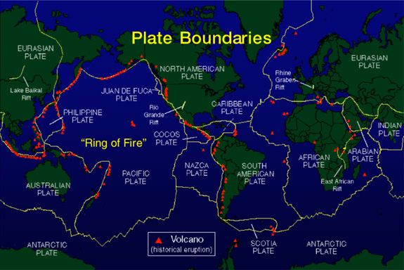 Tuesday: Mapping Plate Boundaries | Ms Lea\'s Blog