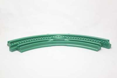 Curved Green Elevation Track