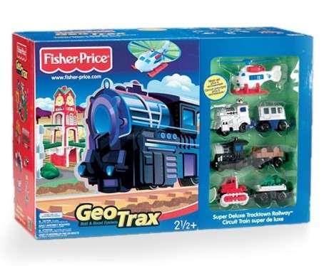G7860 Super Deluxe Tracktown Railway box