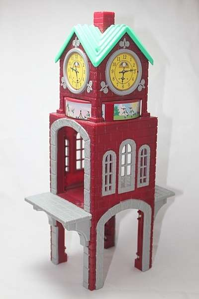 C5218 High Chimes Clock Tower two sides