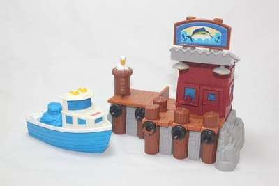 G5545 Portside Fishing Pier set