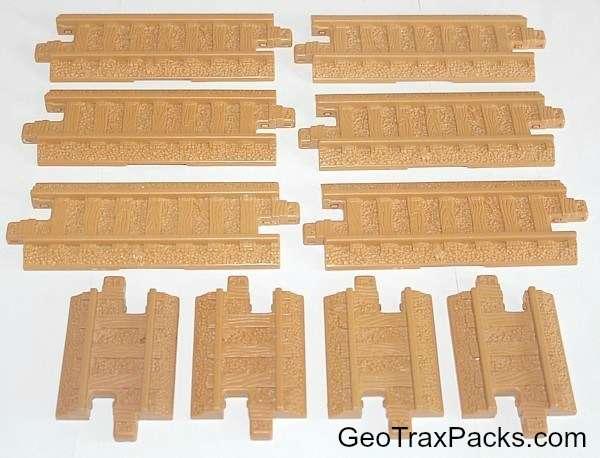 G6171 Rail Track Pack - Straights
