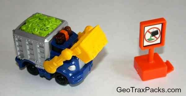 K0403 Sparkle 'n Clean Garbage Truck