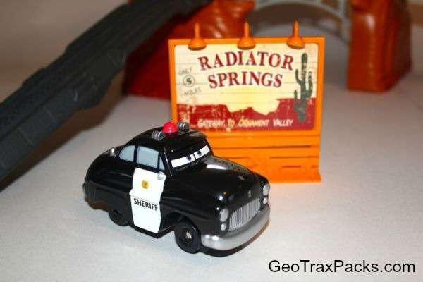 Sheriff and Radiator Springs Sign
