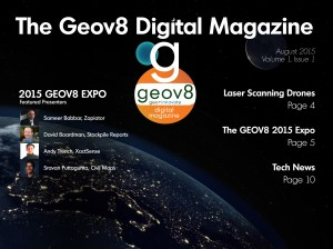 Geov8 Magazine Cover August 2015