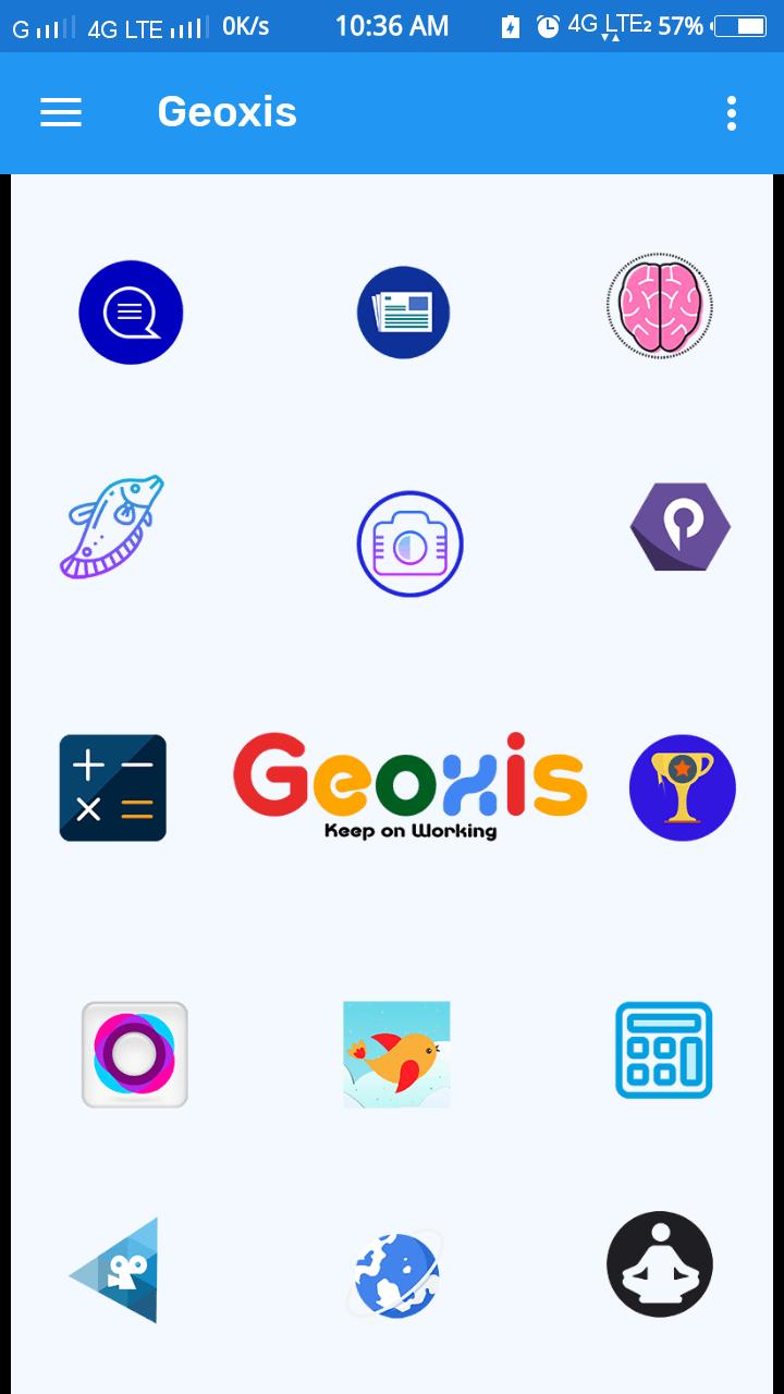 Geoxis App