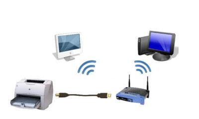 Как подключить принтер к сети Wifi? - Компьютеры ...