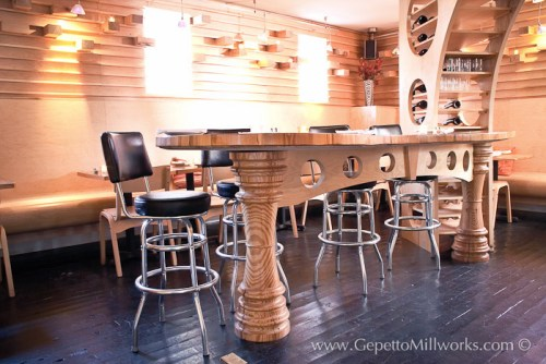 Wooden Bar Eco Moderns Style