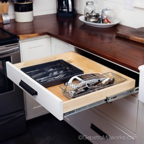 Custom Kitchen Drawers Designed in Virginia