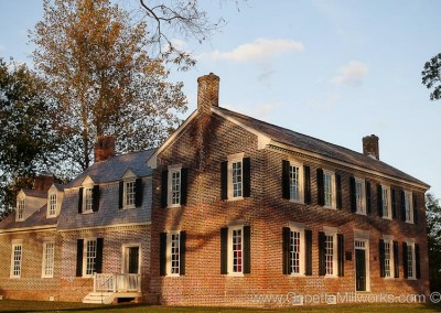 National Register of historic places plantation restoration woodwork