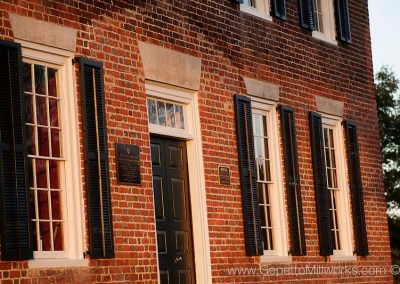 wooden windows and sashes for custom restoration
