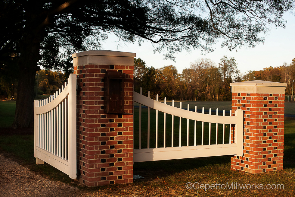 Historic Wooden Gate Construction