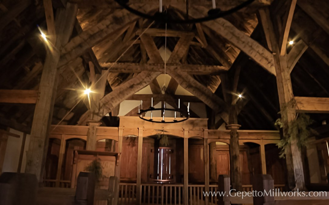 Henricus Historic Park Chapel Construction
