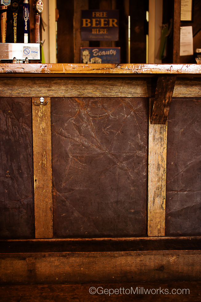 Rustic Style Barnwood Custom Built Bar VA