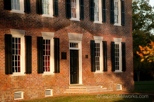 Historic Wooden Windows with Authentic Construction Techniques