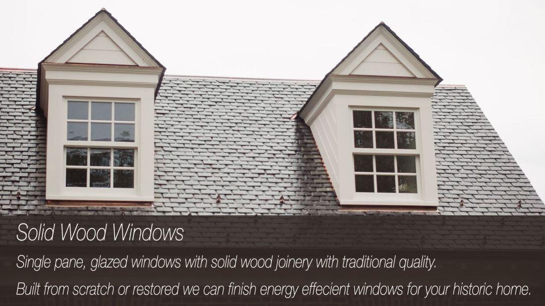 Solid Wooden Windows Richmond VA
