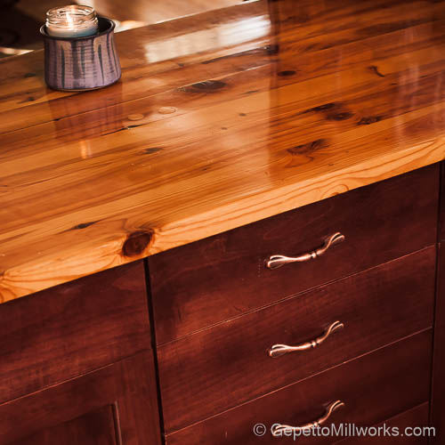 Warmth of Wooden Counter Tops