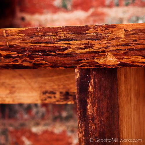 Order a live edge full slab table