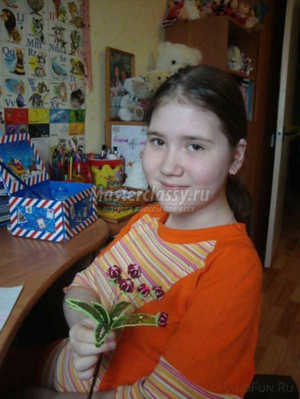 Цветы из пайеток и бисера своими руками. Оригинальные ...