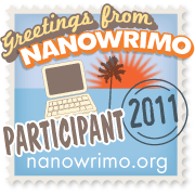 Greetings from NaNoWriMo: Participant, 2011