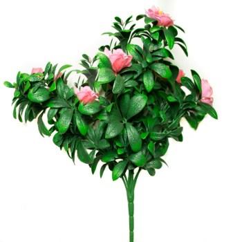 artificial pink azaleas
