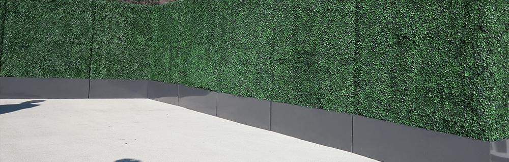 Geranium Street | artificial boxwood hedge
