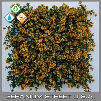 Artificial Orange Foliage