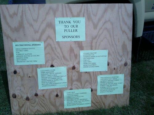 Thank you sponsors!