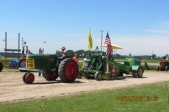 Antique Tractor Pulls on Sunday