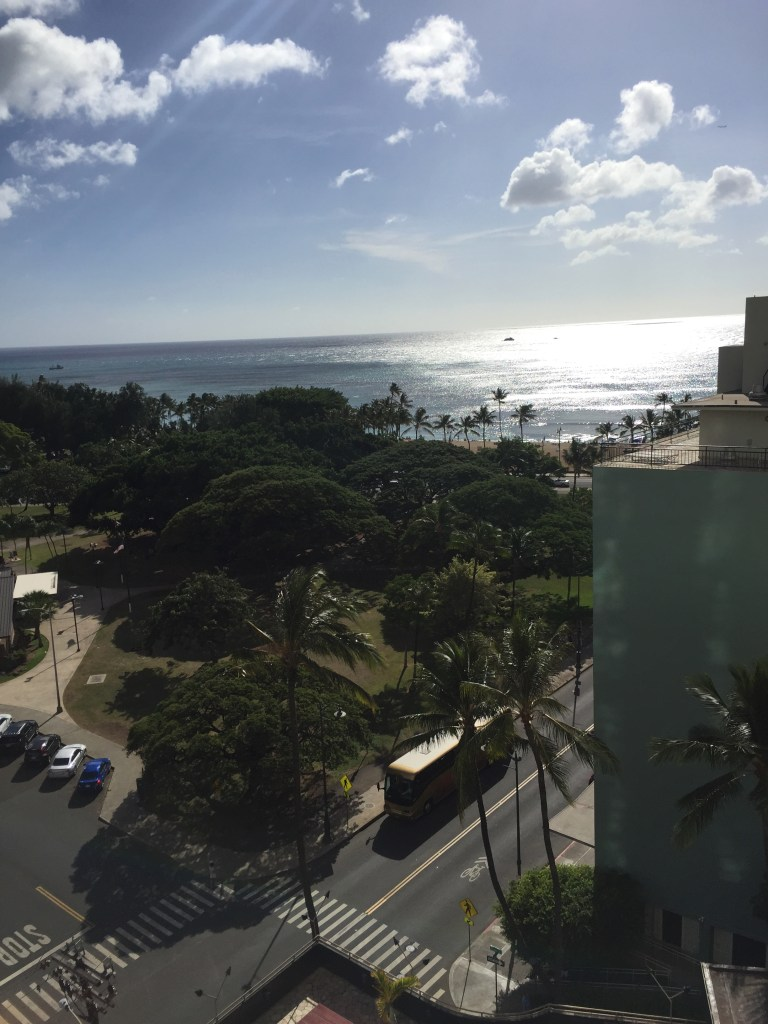 Queen Kapiolani Hotel room view
